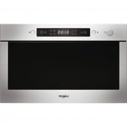 MICRO ONDES ENCASTRABLE + GRILL 22L INOX WHIRLPOOL