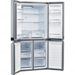 SIDE BY SIDE 4 PORTES NO FROST 677L INOX WHIRLPOOL