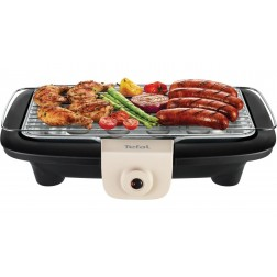 BARBECUE ELECTRIQUE 2300W EASYGRILL POWER TABLE TAUPE TEFAL