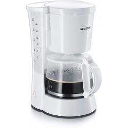 CAFETIÈRE 10 GRANDES TASSES BLANCHE 800W SEVERIN