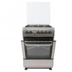 Cuisinière à gaz PROCOOK TG6640IX 60 cm Inox