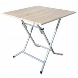 TABLE PLIANTE CARRE 70 x 70 cm PVC