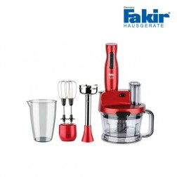 ROBOT MULTIFONCTIONS FAKIR 1000W ROUGE Mr CHEF QUADRO