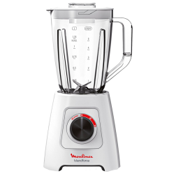 BLENDER MOULINEX BLENDE FORCE 600W + MOULIN A CAFE BLANC
